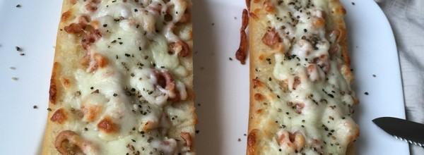 Knoblauch Krabben Brot